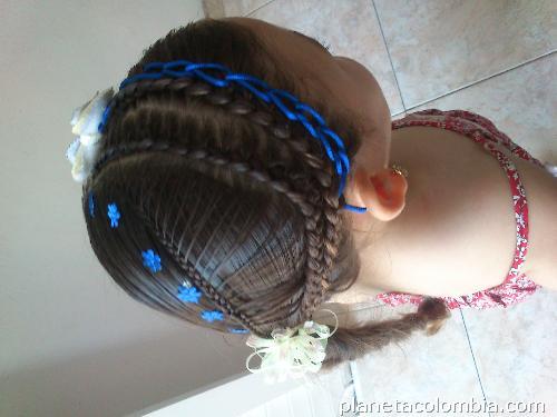 Fotos de Peinados Con Cintas Para Niñas en Barranquilla
